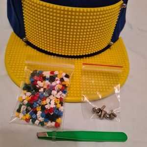 Building Blocks Bricks Basketball Cap Hiphop Hat